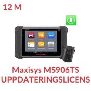 Uppdateringslicens MS906TS
