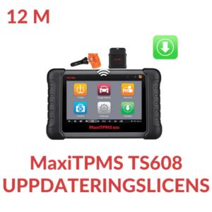 Uppdateringslicens TS608