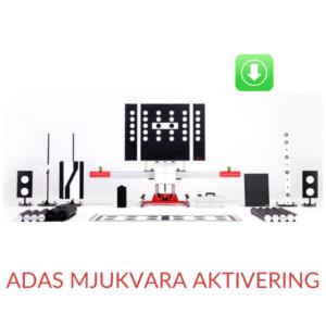 ADAS Mjukvara aktivering