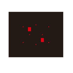 CSC0602/03 Radarkalibreringsplatta Daihatsu ACC