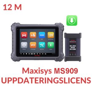 Uppdateringslicens Maxisys MS909