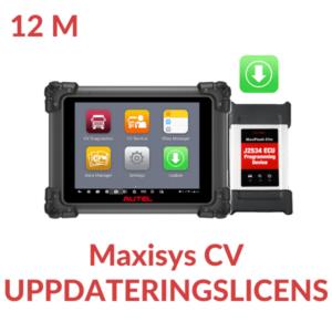 Uppdateringslicens Maxisys CV