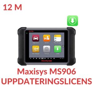 Uppdateringslicens Maxisys MS906