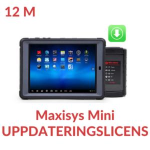 Uppdateringslicens Maxisys MS905 Mini