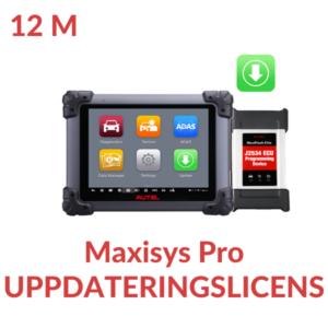 Uppdateringslicens MS908 Pro