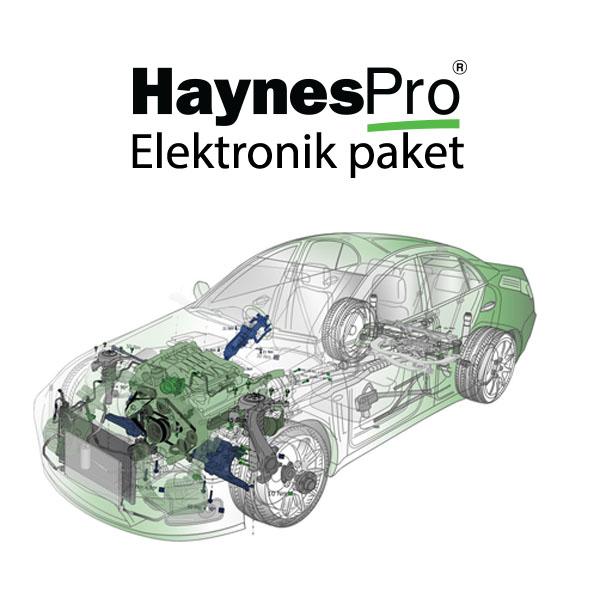 Haynes PRO – Elektronik paket