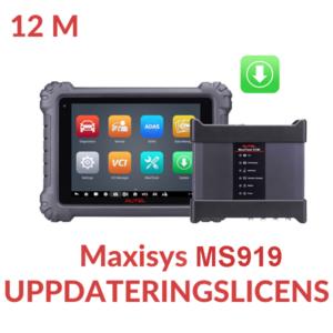 Uppdateringslicens Maxisys MS919
