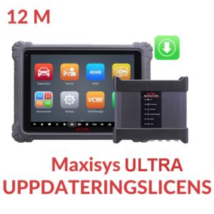 Uppdateringslicens Maxisys ULTRA
